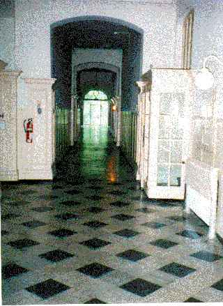 The Main Hallway In Park Home