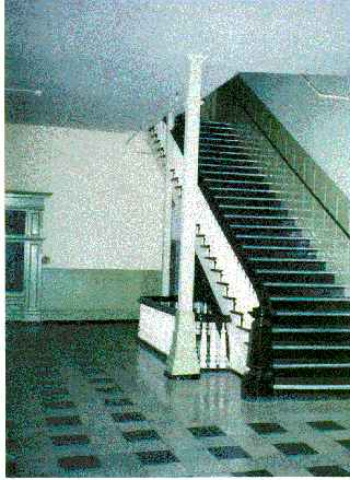 Main Stairway In The Park Home